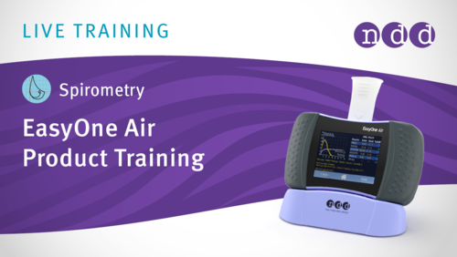 EasyOne Air & Spirometry Training