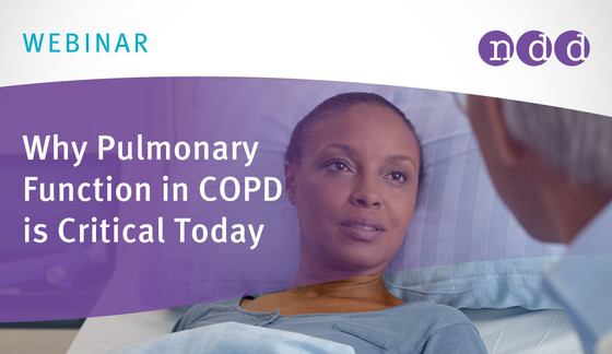 Why Pulmonary Function in COPD is Critical Today