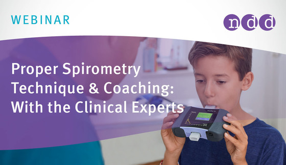 Proper Spirometry Technique & Coaching