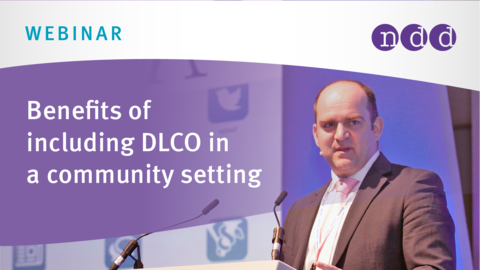Early respiratory diagnosis: benefits of including DLCO in a community setting