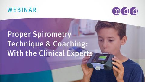 Proper Spirometry Technique & Coaching