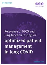 La importancia de las pruebas de función pulmonar y de DLCO para una mejor gestión de los pacientes con COVID persistente